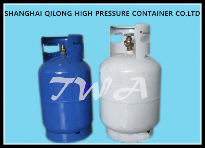 Steel 6.5KG Cooking LPG  Gas Cylinder Gas Regulator With Different Colors
