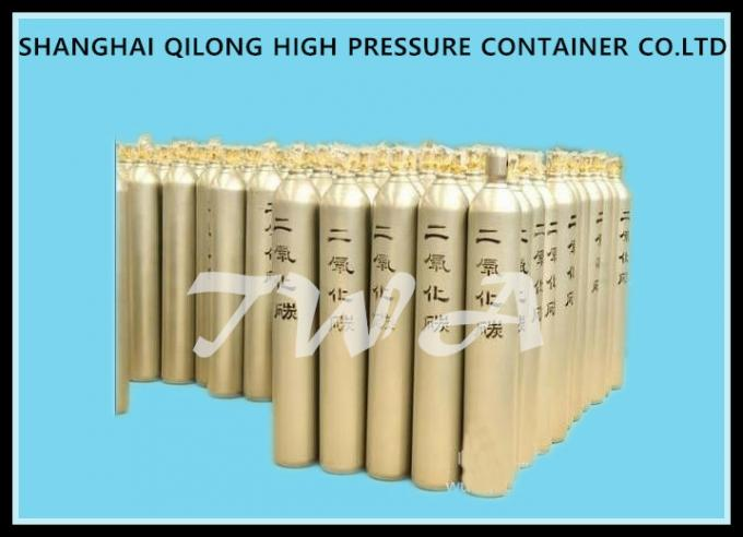 50L Empty High Pressure Industrial Gas Cylinder ISO9809 Standard