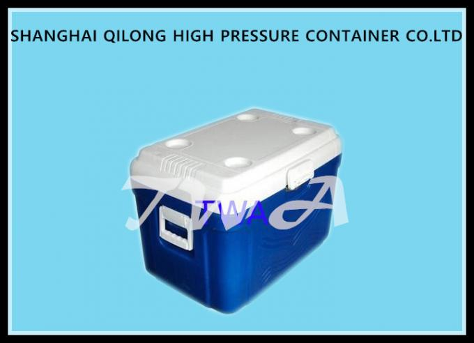 16L HS713C Ice Cooler Box White Top And Blue Box 380×250×346 Mm