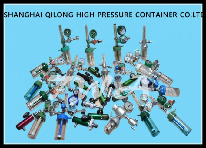 Medical Oxygen Regulator , Gas Cylinder High Pressure Gas Cylinder  YR-86-16