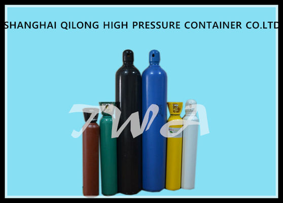 China Alloy Steel Oxygen Gas Cylinder 8L Large Gas Cylinder 695mm Length supplier