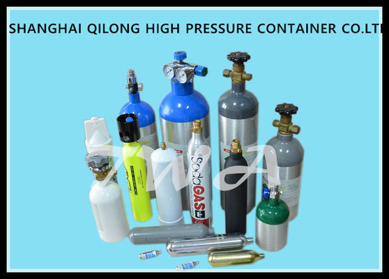 China Alloy Steel High Pressure 5L Compressed Oxygen Tank for Medical use supplier