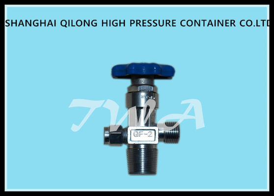 China Brass oxygen cylinder valves,QF-2,Outlet thread G5/8 mm bottle valves supplier