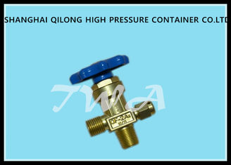 China Brass oxygen cylinder valves,QF-2A1, Thread connected to cylinder GB8335 PZ27.8 mm bottle valves supplier