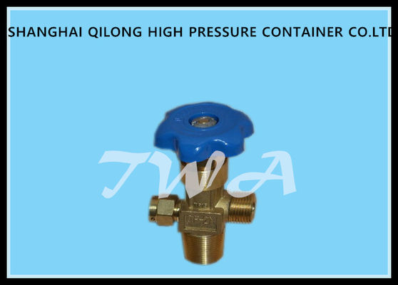 China Brass oxygen cylinder valves,QF-2M,Outlet thread G5/8 mm bottle valves supplier