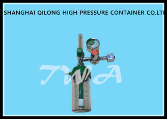 China Safety Relief Valve Medical Oxygen Regulator Forged Brass Body supplier