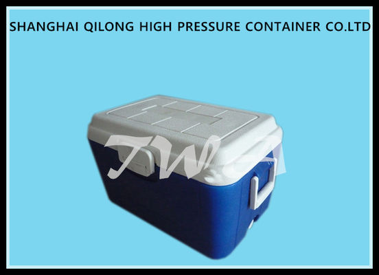 China 26L 48h Portable Ice Box Cooler Commercial Cool Boxes 33cans Two Way Handles supplier