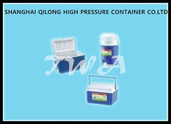 China 40cans Portable Coolers With Wheels , Camping Ice Box 36 Liter For Transport supplier