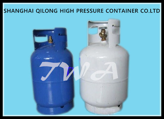 China Steel 6.5KG Cooking LPG  Gas Cylinder Gas Regulator With Different Colors supplier