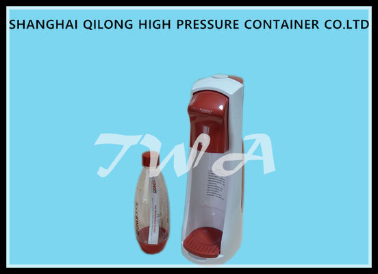 China Safe soda water maker for home use with 0.6L Cylinder and PET bottle supplier