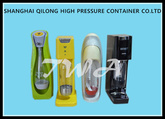 China Lightweight Soda Making Machine , Home Soda Maker 0.6L Aluminum Gas Cylinders supplier