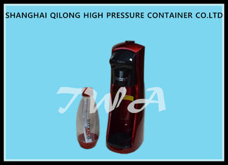 China Easy Operation Mini Plastic / ABS Soda Water Maker With Safe System supplier