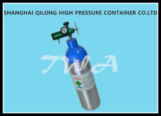 China EU Certificate Alloy 6061 3L Portable Scuba Diving Oxygen Tank / Small Scuba Tank supplier