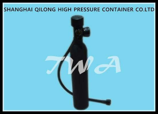 China GB EN ISO Scuba Diving Small Oxygen Tank 1.45L Steel Diving Cylinders supplier