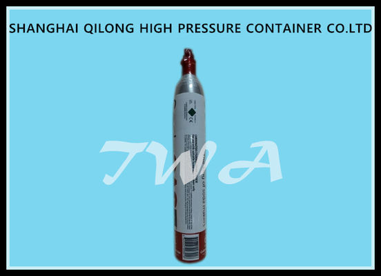 China High Pressure Aluminum  Alloy Gas Cylinder  DOT 0.85L Safety Gas Cylinder for  Use CO2 Beverage supplier