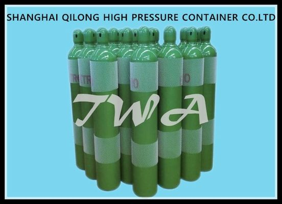 China ISO98.9-3 Steel Industrial Gas Cylinder 1.8L-50L High Pressure Air Tank supplier