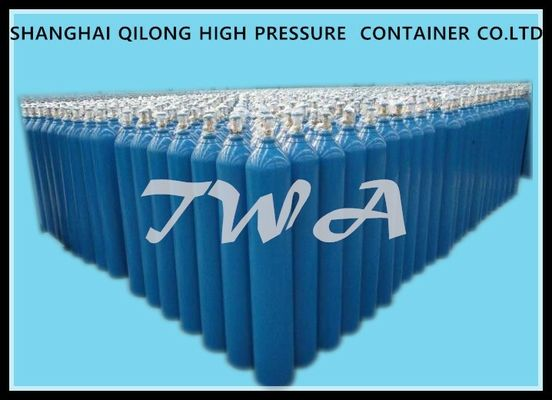 China Industrial Gas Cylinder ISO9809 40L Standard  Welding Empty  Gas Cylinder Steel Pressure   TWA supplier