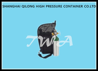 China DOT 0.68L  High Pressure Alloy Aluminum  O2 Gas Cylinder supplier
