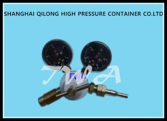 China Blue Oxygen Industrial Gas Regulator Air Pressure O2 Cylinder Regulator supplier