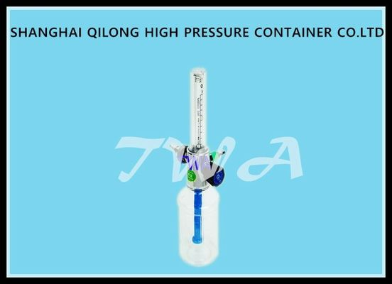 China Medical Wall Oxygen Regulator 0.35MPa Entrance Pressure For Heart Fading supplier