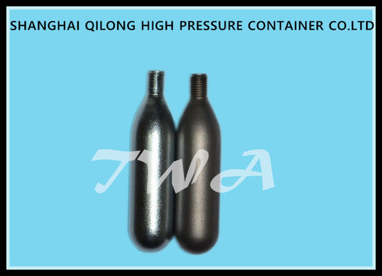 China Steel 8g Disposable Gas Cylinders Co2 Cartridge Cylinder / Aluminum Co2 Cylinders supplier