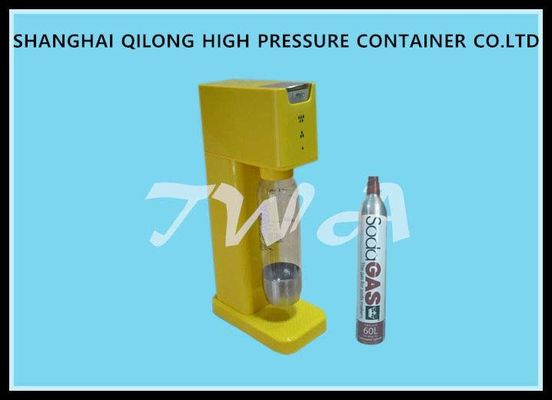 China Small Yellow Soda Machine For Home / Soda Machine Maker 150 Bar Working Pressure supplier