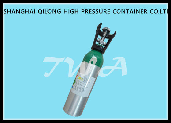 China Seamless Steel High Pressure Gas Cylinder / Hydrogen medical grade oxygen tank supplier