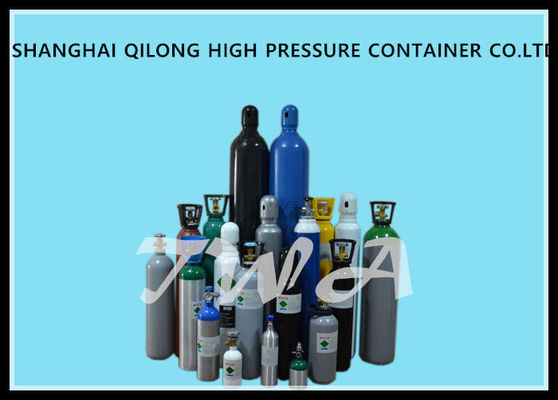 China Welding empty Medical Alloy Steel Gas Cylinder 4L 600mm Length supplier