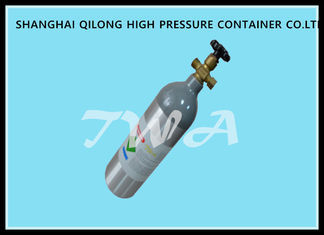 China 3.75kg 2L Aluminum Medical Gas Cylinder / portable oxygen tank supplier