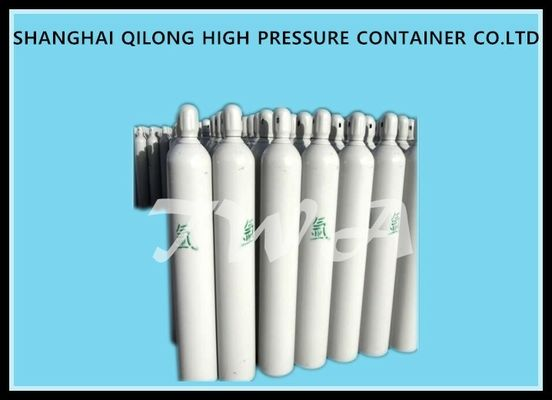 China 34CrMo 34CrMo4 Industrial Gas Cylinder , 45L Compressed Oxygen Cylinders supplier