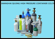 China 6L High Pressure Gas Cylinder Sizes 140mm Outside Diameter Hospital Oxygen Tank factory