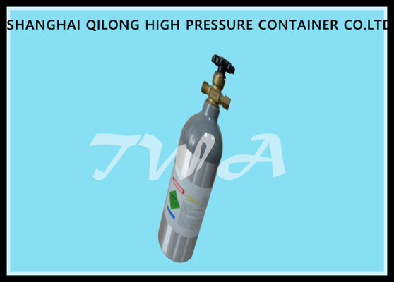 High Pressure 2L Medical Gas Cylinder With Welding Empty Medical Aluminum