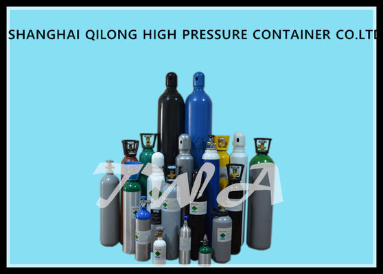 6L Medical Air Cylinder / Aluminum Hydrogen Gas Cylinder OEM Accepted