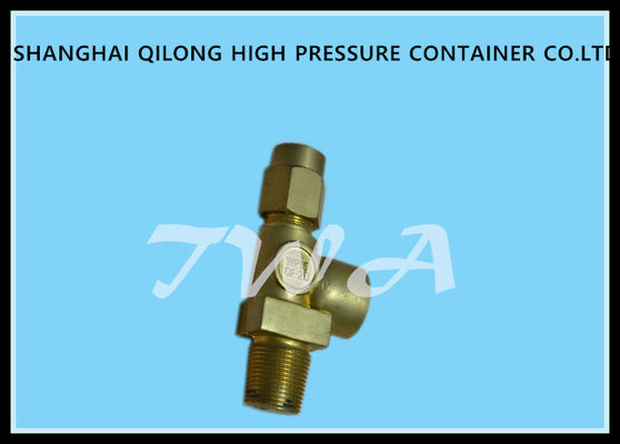 Needle Type Oxygen Cylinder Valves / Pressure Relief Valve Not Have Cracks