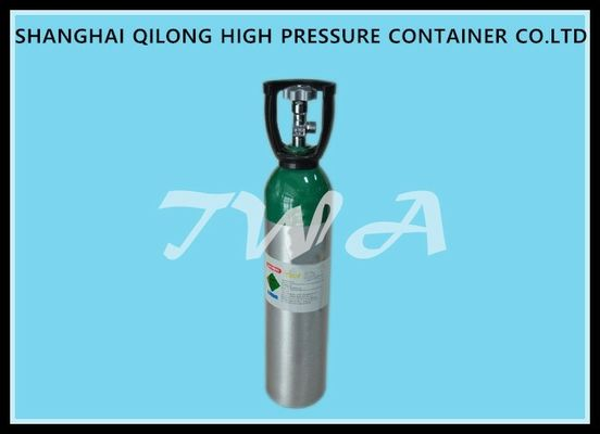Alloy Aluminium Cylinder High Pressure Aluminum Gas Cylinder 20L Safety Gas Cylinder for Medical use