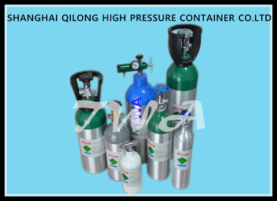 2.5L High Pressure Aluminum Gas Cylinder L Medical Oxygen Tank