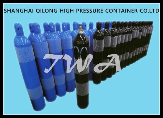 2-15L  Alloy Steel Seamless Steel Gas Cylinder / Co2 Argon Gas Cylinder