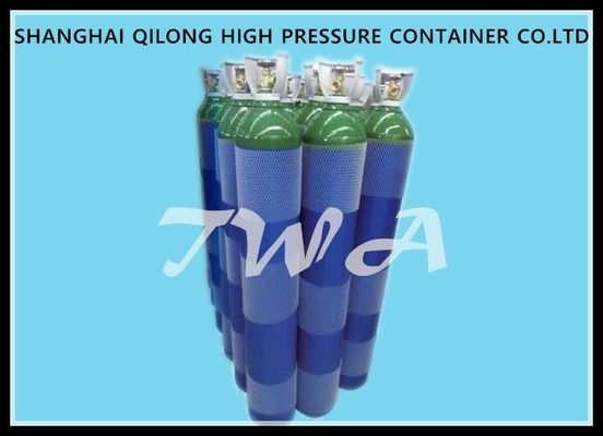 EN1964-1  Steel High Pressure Industrial Gas Cylinder High Corrosion Resistance 3.4-46.7L