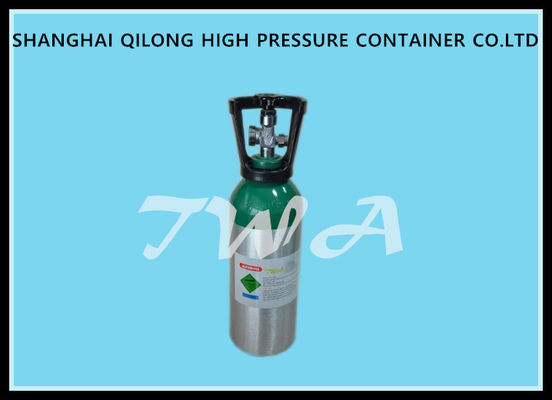 High Pressure Aluminum Gas Cylinder 5L Safety Gas Cylinder for Medical use