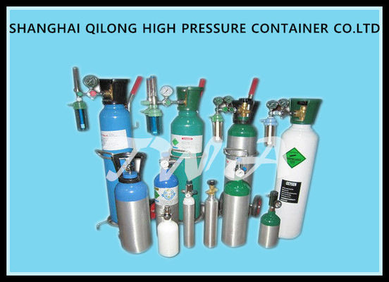 Medical High Pressure Gas Bottles 13.4L Wirh Aluminum AA6061