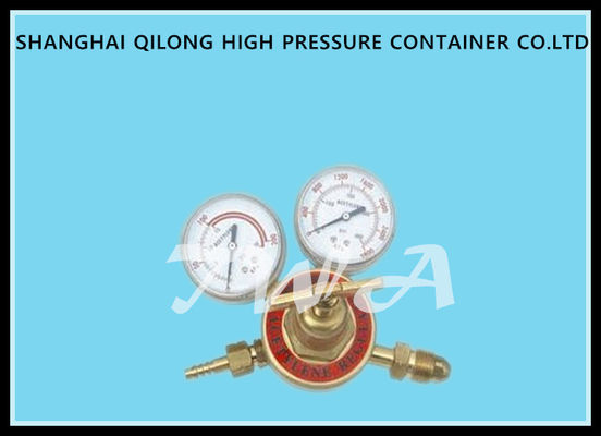 Adjustable Industrial Argon Propane Gas Regulator , Nitrogen Tank Regulator
