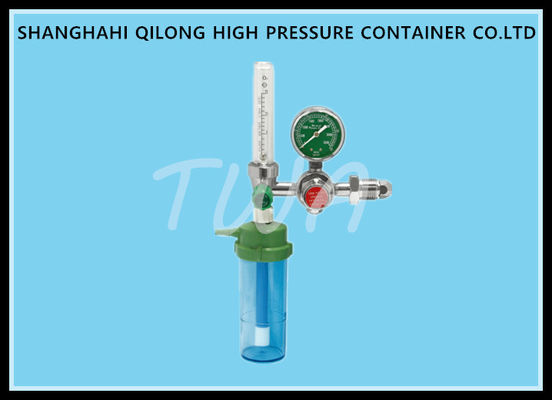 Accuracy Grade 4 Medical Oxygen Regulator , High Pressure Oxygen Gas Regulator