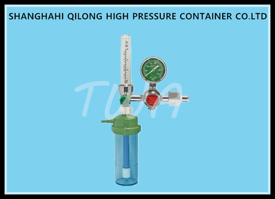 Precision Medical High Pressure Gas Portable Oxygen Regulator 0.2-0.3mpa Exit Pressure