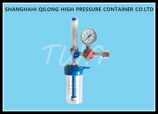 High Pressure Gas Cylinder Medical Oxygen Regulator , O2 Cylinder Regulator