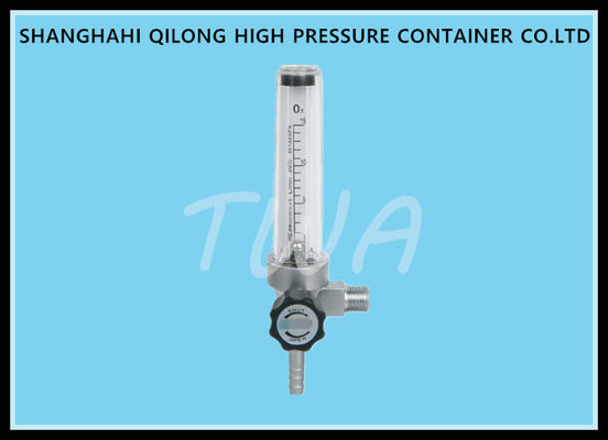 Grand 4 Buoy Type Medical Oxygen Flowmeter For Regulator , TWA - F0102C