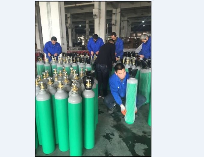 13.4L Empty Gas Cylinder ISO9809  Standard For  Industrial Use