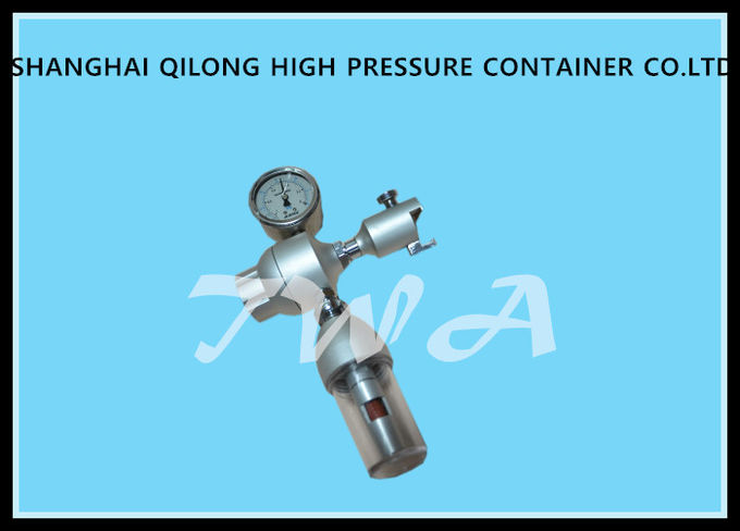 High Pressure Gas Cylinder Medical Oxygen Regulator Brass Grade 4
