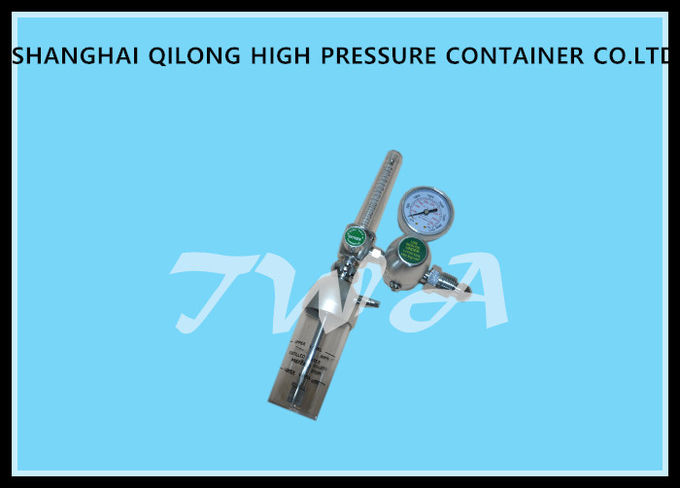 Digital Oxygen Gauge Regulator / Grade 4 Oxygen Cylinder With Regulator