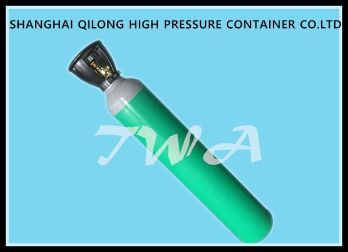 34CrMo 34CrMo4 Industrial Gas Cylinder , 45L Compressed Oxygen Cylinders