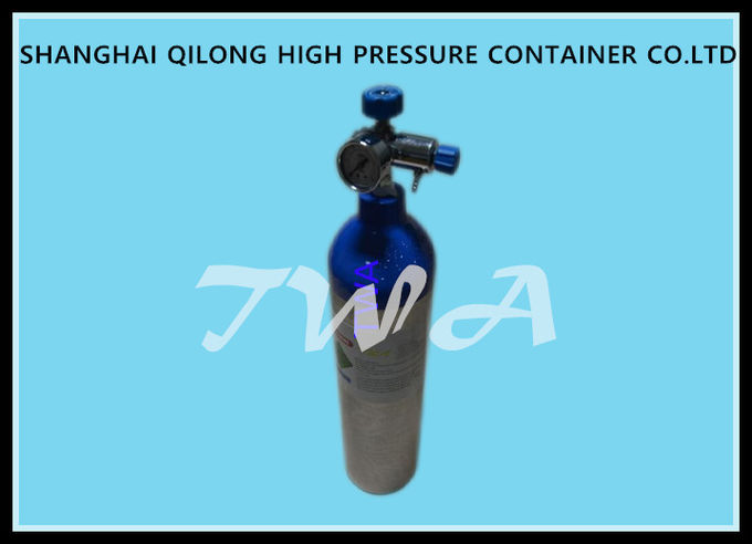 2.5L Scuba Diving Cylinder High Pressure With Aluminum , Steel Material